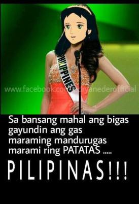 Princess Sarah as the Philippine delegate for a pun international beauty pageant