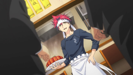 Souma's not feeling the HEAT of his fresh-from-the-oven dish